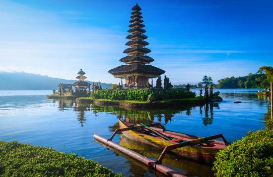 Bratan See auf Bali