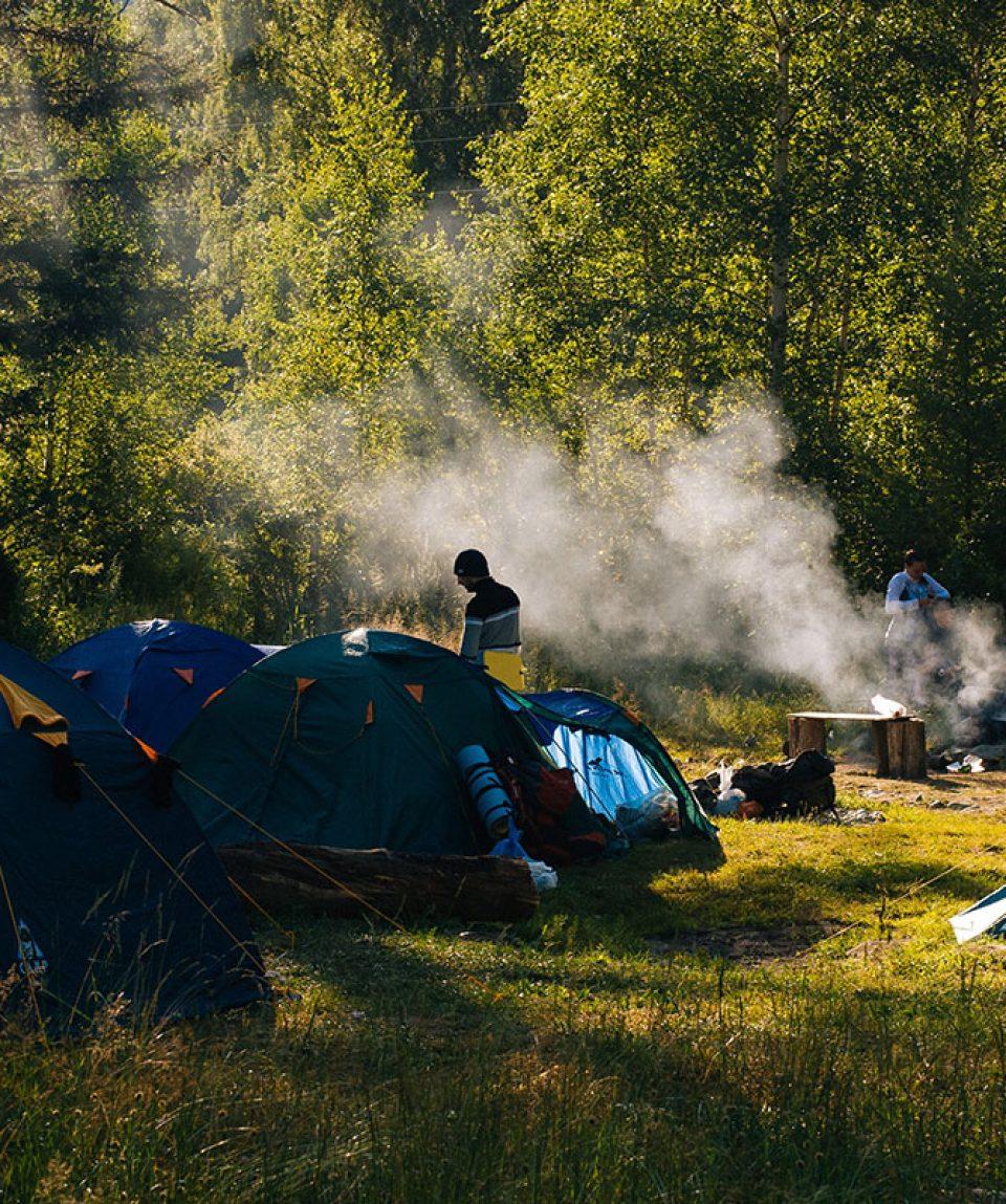Outdoor Survival Camp-Zeltplatz