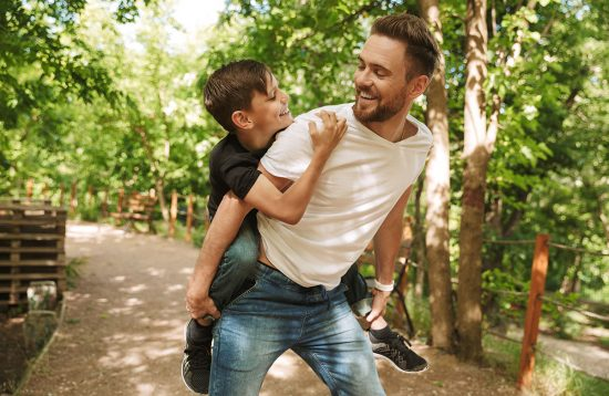 Männers Urlaub für Vater & Sohn