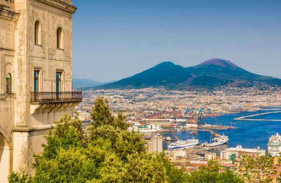 Rom Golf von Neapel 2021