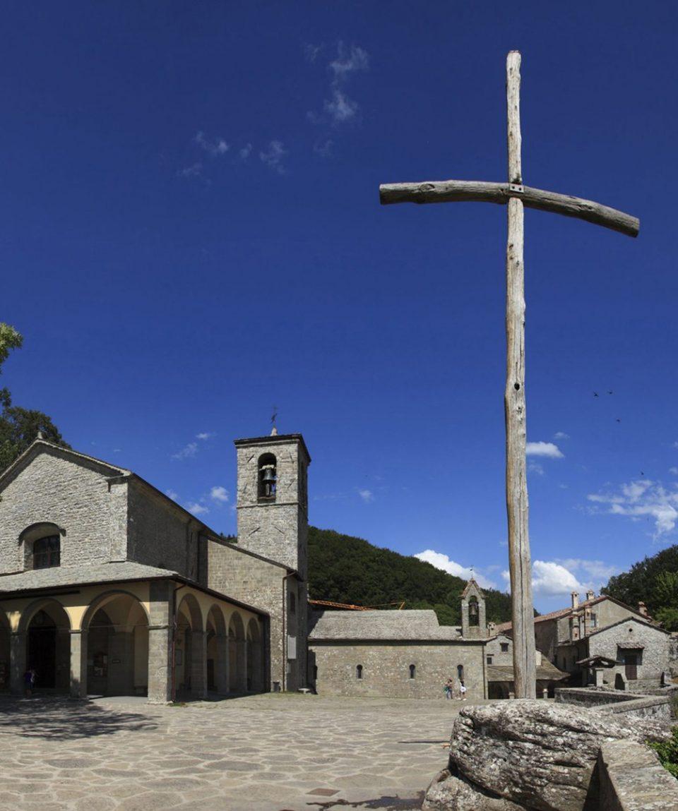 Toscana,Arezzo,Monastero de La Verna,